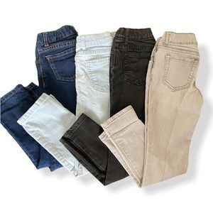 Children's Place Lot of Mixed Wash Jeans, Girls